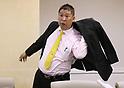 Anti NHK party leader Takashi Tachibana