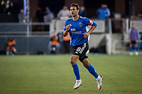 SAN JOSE, CA - MAY 12: Chris Wondolowski #8 of the San Jose Earthquakes enters the field during a game between San Jose Earthquakes and Seattle Sounders FC at PayPal Park on May 12, 2021 in San Jose, California.