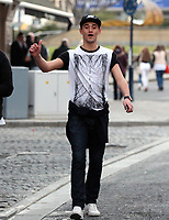"""COPY BY TOM BEDFORD<br /> Pictured: Tom Richards out and about in Swansea. STOCK PICTURE<br /> Re: Danniella Westbrook's cagefighter ex-boyfriend is about to become a dad after falling for another older woman.<br /> Serial toyboy Tom Richards, 27, told friends Danniela, 43, """"can't hold a candle"""" to his new love - brunette Cath Hughes who is a month away from giving birth.<br /> Richards kept the pregnancy secret after discovering his old flame Daniela suffered a miscarriage last year.<br /> But he and Cath, 32, have shown friends a 3D scan of the baby boy due in May.<br /> A pal of the couple said: """"Tom kept the lid on it after finding out that Danniela had lost her baby.<br /> """"He's moved on but he didn't want to rub her nose in it by announcing he's going to be a dad.<br /> """"He's found himself a good woman, she's a bit older than him but she's a good influence."""""""