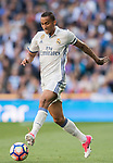 Danilo Luiz Da Silva of Real Madrid in action during their La Liga match between Real Madrid and Deportivo Alaves at the Santiago Bernabeu Stadium on 02 April 2017 in Madrid, Spain. Photo by Diego Gonzalez Souto / Power Sport Images