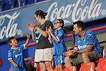 Getafe CF's supporters celebrate goal during friendly match. August 10,2019. (ALTERPHOTOS/Acero)