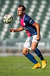 Daniel Cancela Rodriguez of Kitchee in action during the HKFA Premier League between South China Athletic Association vs Kitchee at the Hong Kong Stadium on 23 November 2014 in Hong Kong, China. Photo by Aitor Alcalde / Power Sport Images
