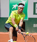 Fabio Fognini (ITA) takes the first set from Gael Monfils (FRA)