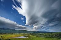 Alaska Range mountains, Interior, Alaska.