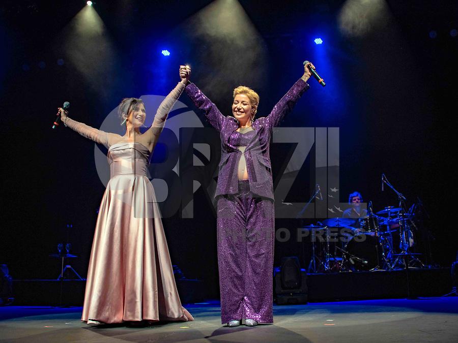 SÃO PAULO, SP. 11.05.2019 - SHOW-SP - As cantoras Zizi Possi e a filha Luiza Possi, fazem show no Tom Brasil, em São Paulo, neste sábado, 11. (Foto: Bruna Grassi / Brazil Photo Press/Folhapress)