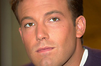 Montreal,April 9, 2001<br /> American actor Ben Affleck speaks at a press conference for the movie `` Sum of all fears ``, currentlly beeing shot in Montreal, CAnada by film maker Phil Alden Robinson.<br /> <br /> Affleck plays CIA analyst Jack Ryan in the 4th movie  based on a Tom Clancy's novel and produced by Mace Neufeld.<br /> <br /> <br /> <br /> NOTE :  color corrected D-1 file, saved asAdobe 1998 RBG Color space