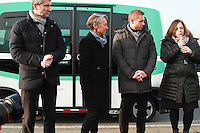 Elisabeth Borne PDG RATP Catherine Baratti-Elbaz maire du 12 eme Navettes autonomes RATP lancement d'une expÈrimentation pont de Charles de Gaulle Paris 23/01/2017