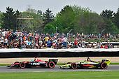 Robert Wickens, Schmidt Peterson Motorsports Honda, SÈbastien Bourdais, Dale Coyne Racing with Vasser-Sullivan Honda