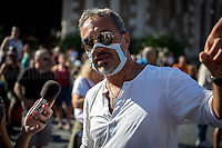 """05.09.2020 - No Mask And Covid-19 Deniers Protest Against Alleged """"Health Dictatorship"""""""