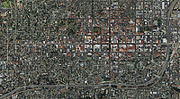 aerial photo map of Santa Barbara, California