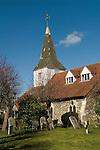Horndon on the Hill Essex.  Parish church St Peter abd St Paul.