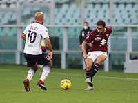 Torino 08-11-2020<br /> Stadio Grande Torino<br /> Campionato Serie A Tim 2020/21<br /> Torino - Crotone <br /> nella foto:  Rodriguez Ricardo                        <br /> foto Antonio Saia -Kines Milano