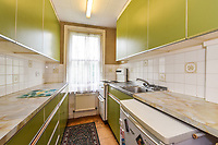 BNPS.co.uk (01202 558833)<br /> Pic: Homesestateagency/BNPS<br /> <br /> Pictured: The kitchen.<br /> <br /> A timewarp home that has been lived in by the same family for more than a century has gone on sale for the first time since being built.<br /> <br /> At the time the property was built, King Edward VII was on the throne and the First World War had not even started.<br /> <br /> The property is being sold for £550,000 under probate by the original builder's three grandchildren, who were born in the Victorian-style house.<br /> <br /> The two-bedroomed home is in the Surrey town of Haslemere and belonged to the Berry family, who decided to sell after the death of their parents, Freda and Leslie.