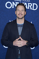 """LOS ANGELES - FEB 18:  Chris Pratt at the """"Onward"""" Premiere at the El Capitan Theater on February 18, 2020 in Los Angeles, CA"""