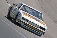 David Pearson 36th place finish #21 Chevrolet Winston 500 at Alabama International Motor Speedway in Talladega , AL on May 5, 1985. (Photo by Brian Cleary/www.bcpix.com)