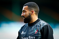 21st November 2020; Welford Road Stadium, Leicester, Midlands, England; Premiership Rugby, Leicester Tigers versus Gloucester Rugby; Zack Henry of Leicester Tigers during the pre-match warm-up