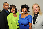 From left: John Guess Jr., Melanie Lawson, Rita Dove and her husband Fred Viebahn at a luncheon at the Houston Museum of African American Cuture Wednesday  March 10,2010. (Dave Rossman Photo)