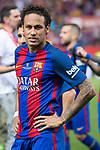 FC Barcelona's Neymar Santos Jr after Copa del Rey (King's Cup) Final between Deportivo Alaves and FC Barcelona at Vicente Calderon Stadium in Madrid, May 27, 2017. Spain.<br /> (ALTERPHOTOS/BorjaB.Hojas)