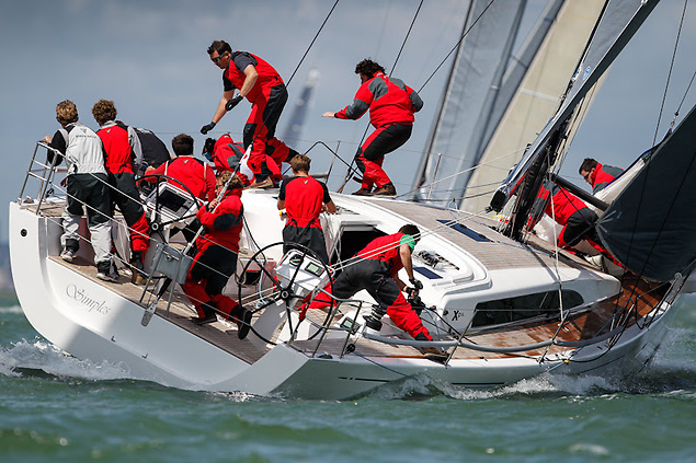 A strong youth focus on Demian Smith's XP44 Simples - competing with family and friends as crew