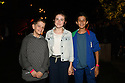 Henry V press night guests, cast and creatives at Regent's Park Open Air Theatre. Picture shows: Tyler Osborne, Ava Potter and Joshua Fernandes from the cast of Running Wild.