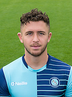 Danny Rowe of Wycombe Wanderers during the Wycombe Wanderers 2016/17 Team & Individual Squad Photos at Adams Park, High Wycombe, England on 1 August 2016. Photo by Jeremy Nako.