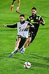 Spanish National Team's  training at Ciudad del Futbol stadium in Las Rozas, Madrid, Spain. In the pic: . March 25, 2015. (ALTERPHOTOS/Luis Fernandez)