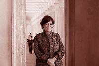 Lucrezia Reichlin, A dirlo è l'economista e docente della London Business Professor of Economics London Business School Regent's Park London. Venezia 25 gennaio 2019. Photo by Leonardo Cendamo/Gettyimages