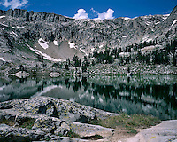 Lake Solitude in the North Fork of Cascade Canyon; Grand Teton National Park, WY