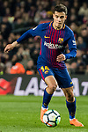 Philippe Coutinho of FC Barcelona in action during the La Liga 2017-18 match between FC Barcelona and Girona FC at Camp Nou on 24 February 2018 in Barcelona, Spain. Photo by Vicens Gimenez / Power Sport Images