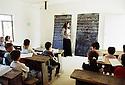 Irak 2000 Classe d'Araméen à l'école de Levo  Iraq 2000 In Levo, a christian village, lecture of Arameen