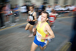 Pix: Shaun Flannery/sf-pictures.com....COPYRIGHT PICTURE>>SHAUN FLANNERY>01302-570814>>07778315553>>..16th July 2008............Road Runners in town centre. .HUNDREDS of people of all ages and abilities from across the Borough took to the town centre streets for the fifteenth Doncaster Road Race on Wednesday 16 July.