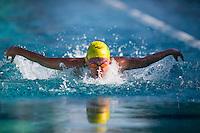 Santa Clara, California - Sunday June 5, 2016:  Keryn McMaster races in the Women's 200 LC Meter IM at the Arena Pro Swim Series at Santa Clara finals.