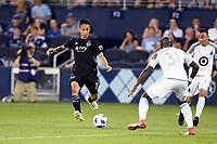 Kansas City, Kansas - June 3, 2018:<br /> Sporting Kansas City defeated Minnesota United F.C. 4-1 in a Major League Soccer (MLS) game at Children's Mercy Park.