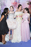 """Misty Copeland, Ellie Bamber, Keira Knightley and Mackenzie Foy<br /> arriving for the European premiere of """"The Nutcracker and the Four Realms"""" at the Vue Westfield, White City, London<br /> <br /> ©Ash Knotek  D3458  01/11/2018"""