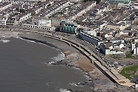 Aerial view of Porthcawl