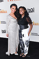 """PASADENA, CA - JUNE 10: Antonique Smith and Shaian Jordan attend National Geographic's """"Genius: Aretha"""" FYC Drive-In Screening And Panel at the Rose Bowl on June 10, 2021 in Pasadena, California. (Photo by Vince Bucci/National Geographic/PictureGroup)"""