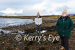 Renard Save Our Beach group remaiin united to stop the Commercial Oyster Farms at Derreen River/Renard Starnd pictured here l-r; Kaylin O'Sullivan & Maura O'Connor.