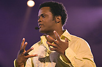 Luck Mervil performs at the Saint-Jean-Baptiste show on the Plains of Abraham Thursday June 23, 2005.