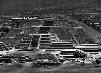 Teothuacan Pyramid of The Moon C. 0-600 AD. Mexico