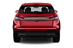 Straight rear view of 2020 Lincoln Nautilus Base 5 Door SUV Rear View  stock images