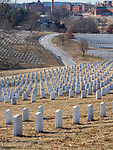 Many soldier are buried in the National Cemetery in Leavenworth, kansas.