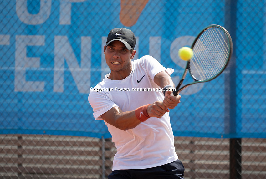 Amstelveen, Netherlands, 13 August 2020, NTC, National Tennis Center, KNLTB Wilcard Tournament, <br /> Photo: Henk Koster/tennisimages.com