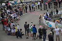 Bram Tankink (NLD/LottoNL-Jumbo) coming up<br /> <br /> stage 15 (iTT): Castelrotto-Alpe di Siusi 10.8km<br /> 99th Giro d'Italia 2016