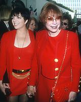 Liza Minnelli Shirley Maclaine<br /> 1994<br /> Photo By Michael Ferguson/CelebrityArchaeology.com