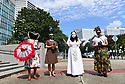 Walking for Peace featuring Sr. Alison McCrary, Dianne Honore, and Cherice Harrison-Nelson, from City Hall to St. Jude Shrine