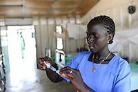 SOUTH SUDAN  Bahr al Ghazal region , Lakes State, hospital of Comboni missionaries in village Mapuord / SUED-SUDAN  Bahr el Ghazal region , Lakes State, Mary Immaculate DOR Hospital der Comboni Missionare im Dinka Dorf Mapuordit