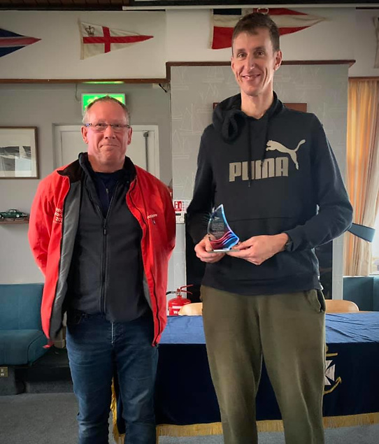 Martin Pelican runner up in the Gold fleet of the Ulster Windsurfing Championships