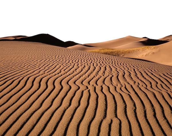 Photoshop mask, Great Sand Dunes National Park, Alamosa, Colorado.