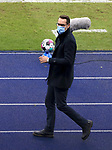 17.10.2020, OLympiastadion, Berlin, GER, DFL, 1.FBL, Hertha BSC VS. VfB Stuttgart, <br /> DFL  regulations prohibit any use of photographs as image sequences and/or quasi-video<br /> im Bild Manager Michael Preetz (Hertha BSC Berlin)<br /> <br />     <br /> Foto © nordphoto /  Engler
