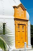 Porte d'entrée du phare Amédée
